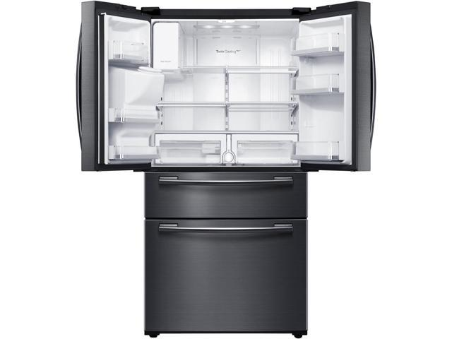 Samsung 33 Wide 25 Cu Ft Capacity 4 Door French Door Refrigerator