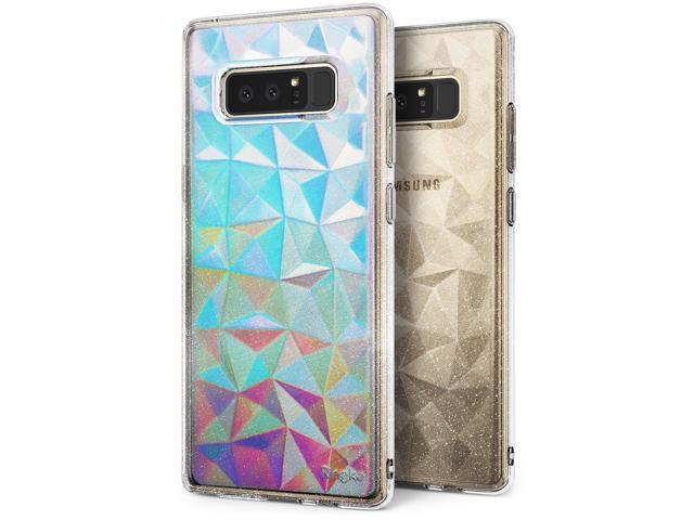 new arrival 48985 d6771 Samsung Galaxy Note 8 Case, Ringke [AIR PRISM GLITTER] TPU Flexible Sparkle  Slim 3D Design Cover - Glitter Clear - Newegg.com