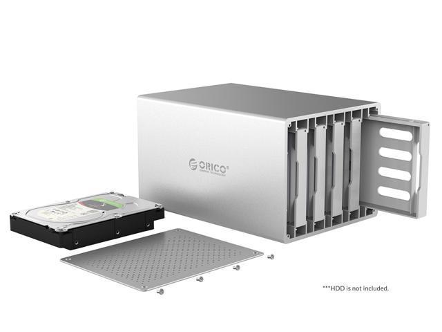 ORICO Aluminium 5 Bay 3.5 inch USB3.1 SATA SATA HDD ...