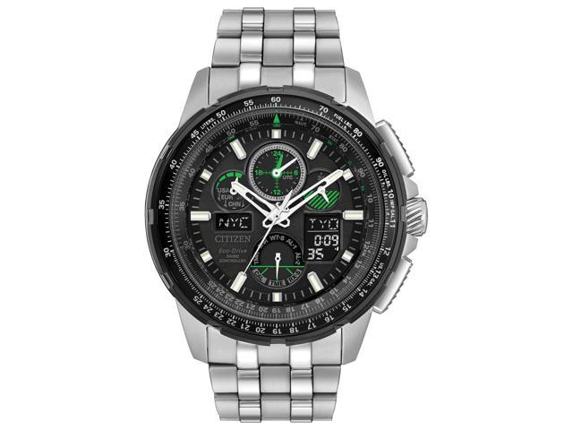 752396b9f Citizen Eco-Drive Skyhawk Chronograph Mens Watch JY8051-59E ...