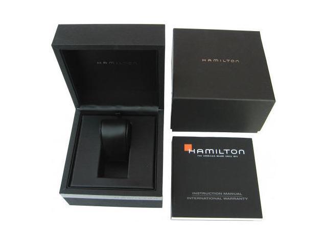 04a73889b0d Hamilton Khaki King Scuba Black Dial GMT Automatic Mens Watch H64515133