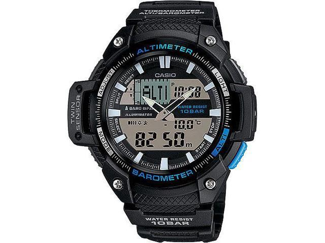 41291a888 Men's Casio Twin Sensor Analog-Digital Sports Watch SGW450H-1A ...