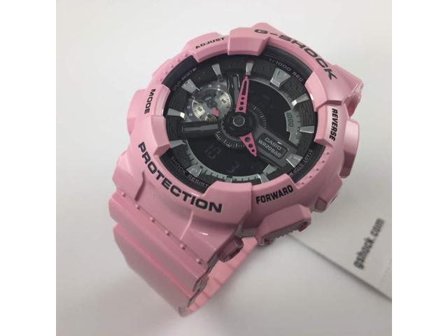 a6b8a4f94 Women's Casio G-Shock Pink Analog Digital Watch GMAS110MP-4A2 ...
