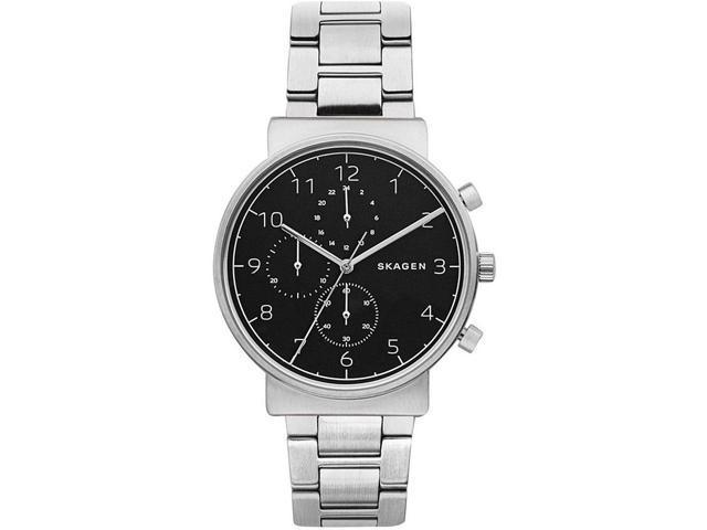 813168c08 Men's Skagen Ancher Steel Chronograph Watch SKW6360 - Newegg.com