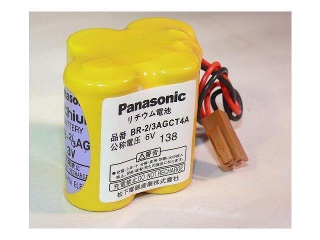 New BR-2/3AGCT4A 6V battery For Panasonic FANUC A98L-0031-0025 - Newegg com