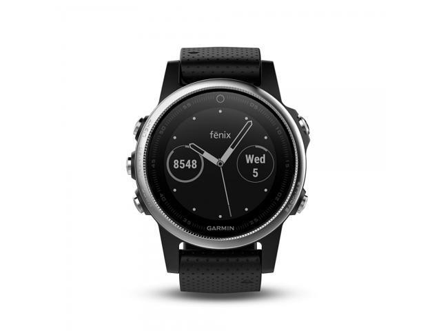 Garmin Fenix 5 Slate Gray With Black Band Fenix 5 Multisport GPS Watches for Fitness