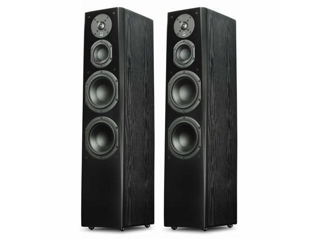 62c6b1f5a52 SVS Prime Tower Speakers - Pair (Premium Black Ash) - Newegg.com
