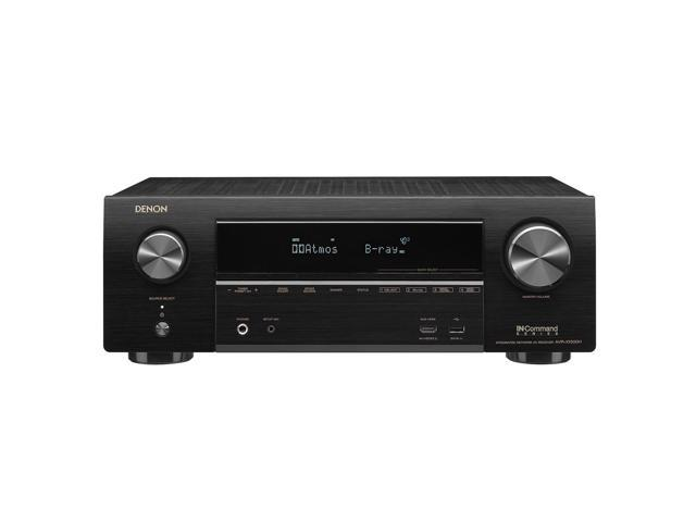 Denon AVR-X1500H 7 2-Channel 4K Ultra HD AV Receiver with HEOS - Newegg com