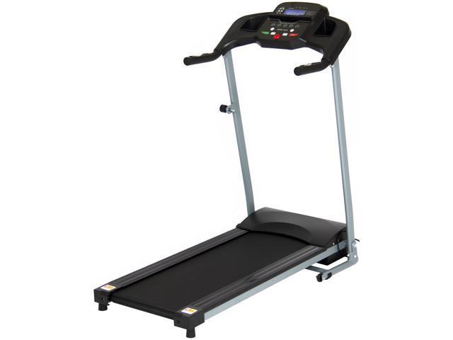 Best Choice Products 800W Portable Folding Electric Motorized Treadmill  Machine w/ Rolling Wheels - Black - Newegg com