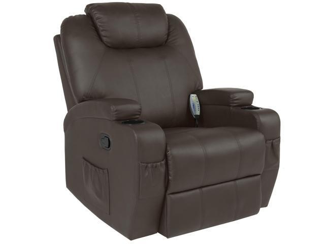 Miraculous Best Choice Products Executive Swivel Massage Recliner Machost Co Dining Chair Design Ideas Machostcouk