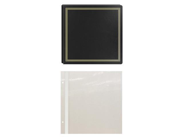 Pioneer Pmv206 X Pando Magnetic Photo Album Black Bundle Neweggcom