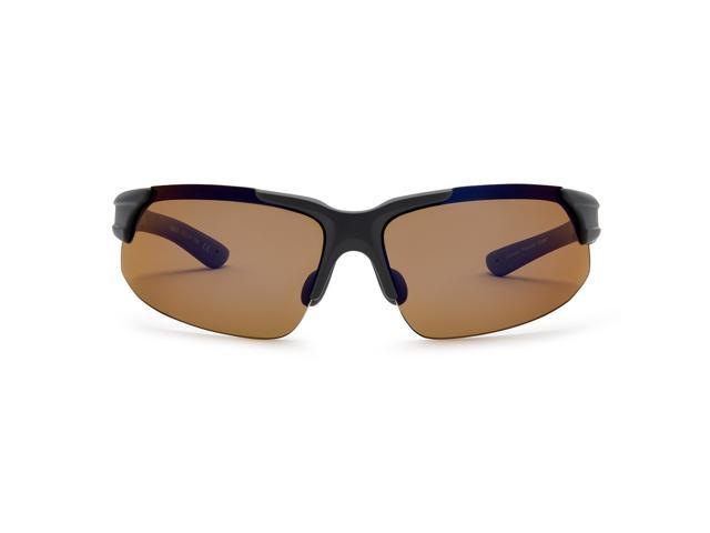 eff09aebd7e Callaway Peregrine Golf Sunglasses (Matte Black Brown Polarized ...