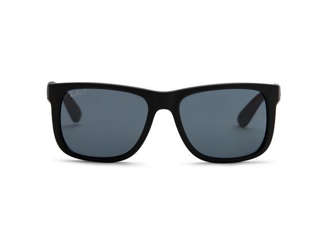 d1d8cc30c46a Ray-Ban Justin Classic Polarized Sunglasses 55mm Black Frame - Newegg.com