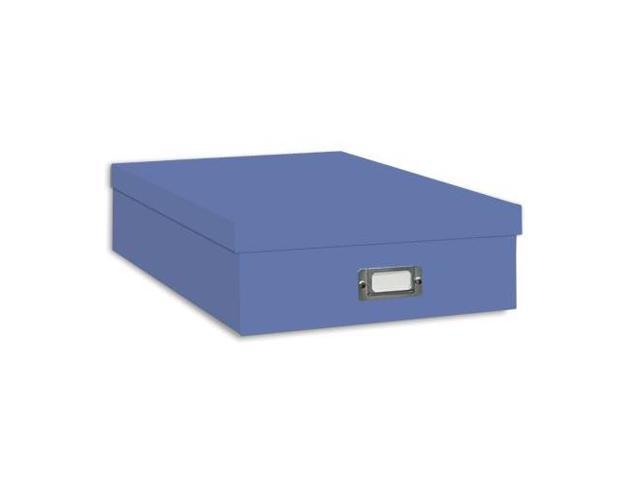 Pioneer Jumbo Scrapbook Storage Box (Sky Blue)