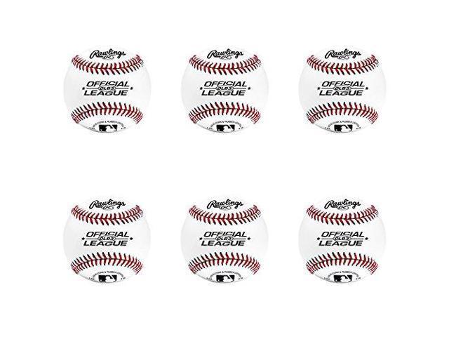 a3d34302 Rawlings OLB3 Official League Recreational Play Baseball (Set of 6 ...
