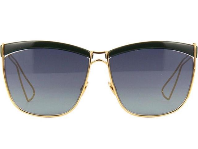 87e68c77cd0 Dior 26H58HD Soelectric Sunglasses (Black Gold Frame GrayLens ...