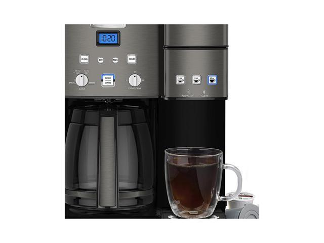 Cuisinart Ss 15bks Stainless Coffee Center 12 Cup Coffeemaker