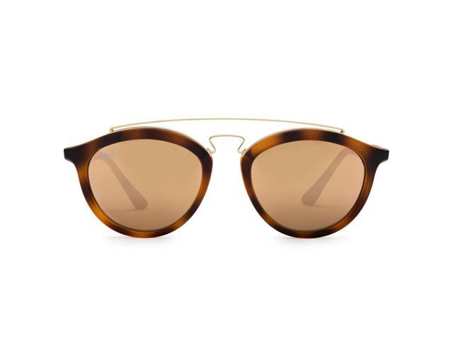 e125e7c1bb4 Ray-Ban RB4257 Gatsby II Sunglasses (Tortoise Brown and Gold Copper Mirror)