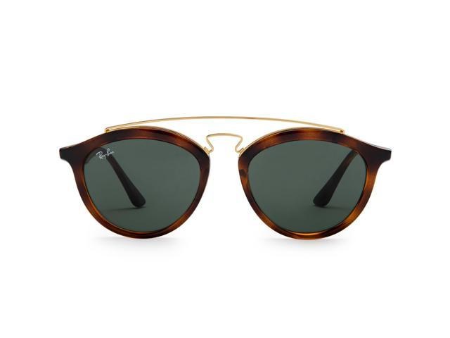 39661da92e Ray-Ban RB4257 Gatsby II Sunglasses (Tortoise Brown and Gold Green Classic)