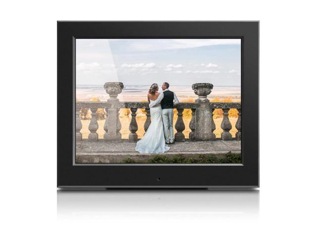Aluratek 8inch Slim Digital Photo Frame Digital Photo Frame