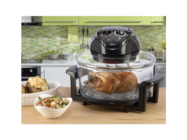 Etonnant Fagor 670040380 12 Quart Halogen Tabletop Oven, Black
