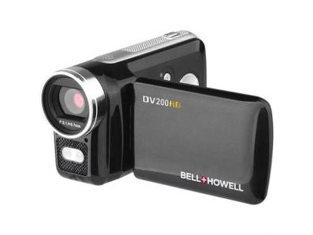 BELL+HOWELL DV200HD 5 0 Megapixel Dv200HD High-Definition Digital Video  Camcorder - Newegg com