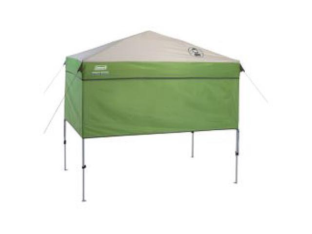 Coleman 7 X 5 Instant Canopy Sunwall Accessory Green