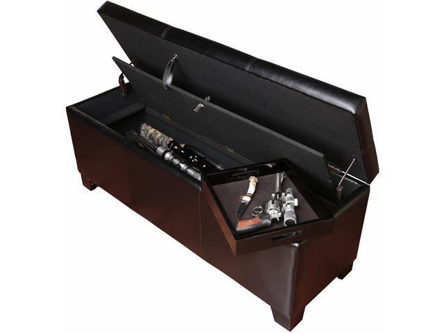 American Furniture Classics Gun Concealment Bench Newegg Com