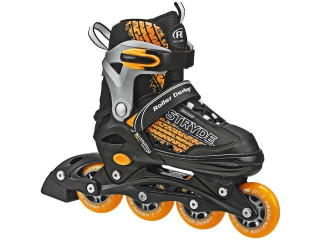 Roller Derby Boys' Stryde Adjustable Inline Skates Small