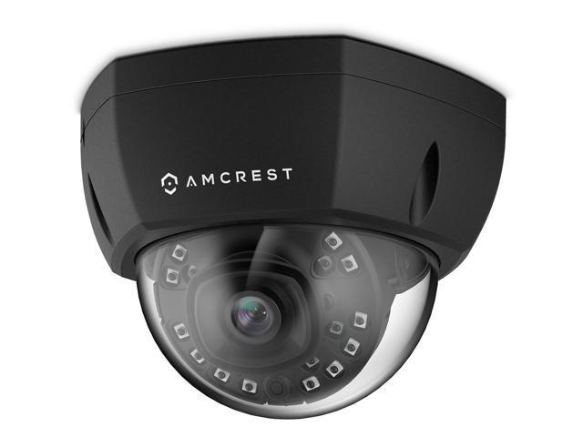 Amcrest ProHD Outdoor 4-Megapixel PoE Vandal Dome IP Security Camera - IP67  Weatherproof, IK10 Vandal-Proof, 4MP (2688 TVL), IP4M-1028E (Black) -
