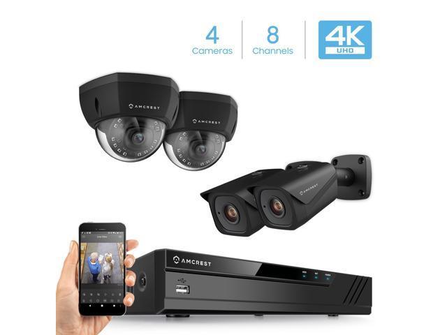 c86b1520c798 Amcrest 4K 8CH Security Camera System w  H.265 4K (8MP) NVR