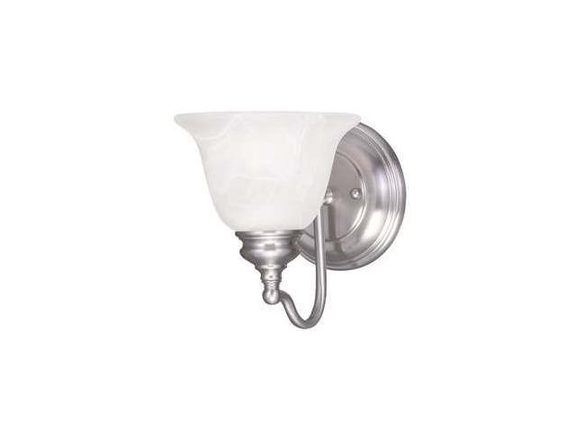 Livex Oldwick Modern Brushed Nickel 3 Light Bathroom: Livex Lighting Essex Bath Light In Brushed Nickel