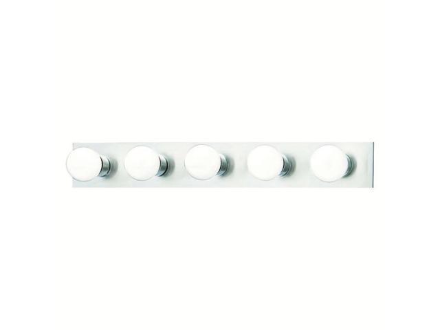 Thomas Vanity Strips Wall Lamp Brushed Nickel 5