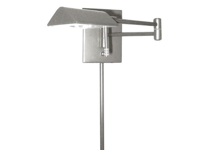 Dainolite 902wled Sc Led Swing Arm Wall Lamp With Cord Cover Satin Chrome