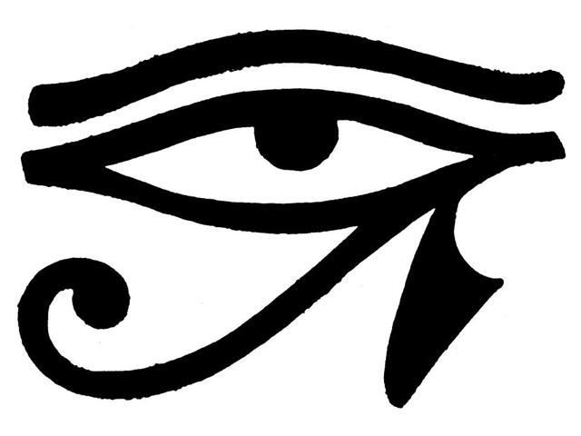 Ancient Egyptian Symbols Eye Of Horus Clipart Library