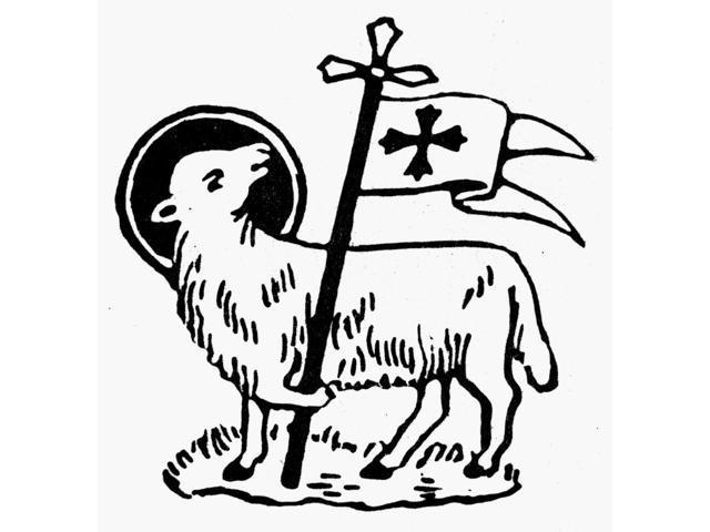 Christianity Agnus Dei Nagnus Dei Or Lamb Of God Symbol Of