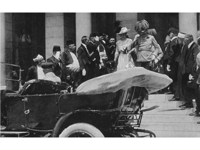 Franz Ferdinand Narchduke Franz Ferdinand And Archduchess