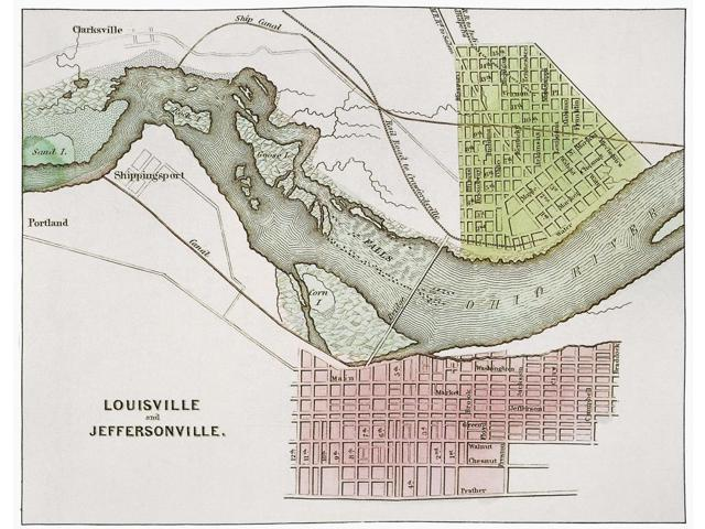 Jeffersonville Indiana Map Nmap From 1837 Of Jeffersonville Indiana
