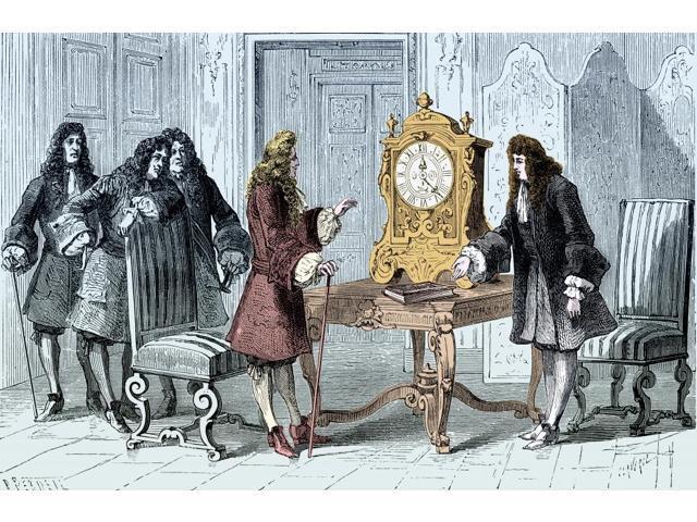 Christiaan Huygens Pendulum Clock Poster Print by Science Source (24 x 18)  - Newegg com