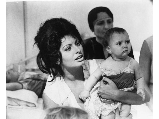Film Still Of Sophia Loren Holding A Baby Photo Print (10
