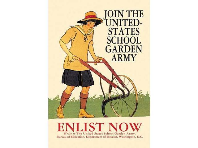 The United States School Garden Army (USSGA) was created in 1917 as a way  to encourage gardening among school children By encouraging children to