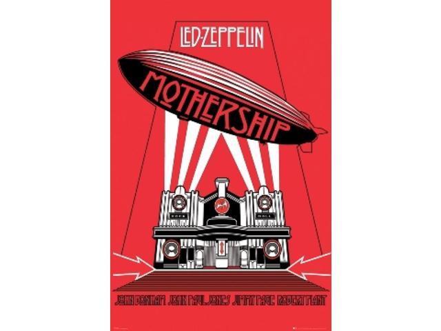 Posterazzi SCO31570 Led Zeppelin Mothership Poster Print - 24 x 36 in  -  Newegg com