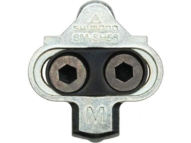 Shimano SPD SM-SH56 Multi-Directional Release Cleats w//o Cleat Plate Nuts
