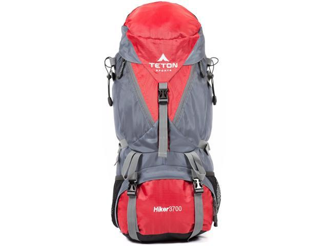 TETON Sports Hiker 3700 Ultralight Internal Frame Backpack - Red ...