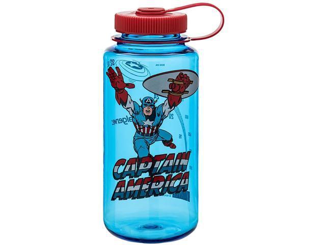 389950a950 Nalgene Marvel Tritan Wide Mouth Water Bottle - 32 oz.-Captain America In  Action
