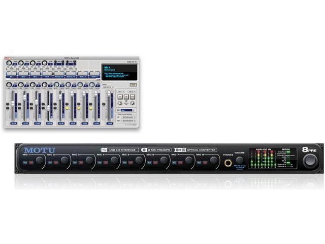 MOTU 8pre USB 24 Bit 96kHz Audio Interface