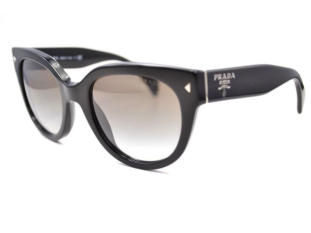 9527c775d387a ... clearance prada sunglasses pr 17os 1ab0a7 black 54mm 20e57 c5a33