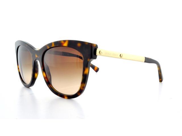 6b41b3433113 GIORGIO ARMANI Sunglasses AR 8011 502613 Havana 53MM ...