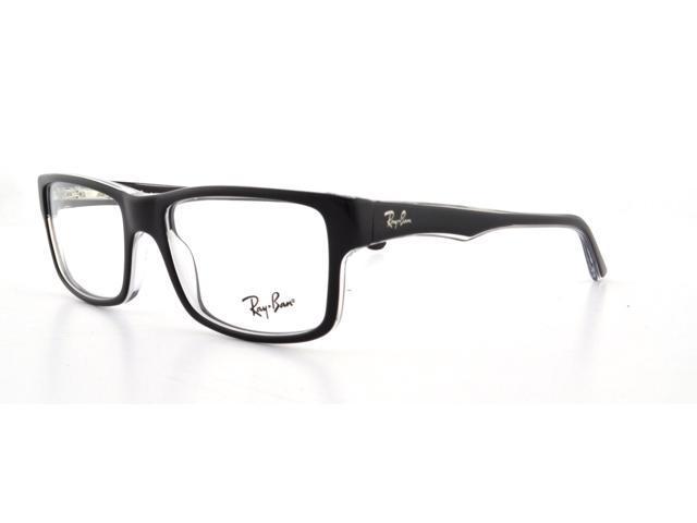 48a9a4457f8 RAY BAN Eyeglasses RB 5245 2034 Black Transparent 54MM ...