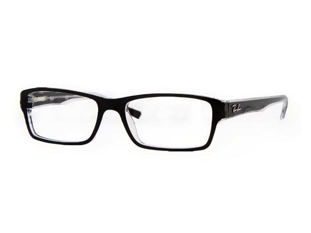 928e6d88d9 RAY BAN Eyeglasses RB 5169 2034 Black Transparent 54MM - Newegg.com
